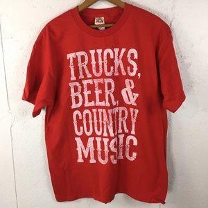 Trucks Beer Country Music T-shirt